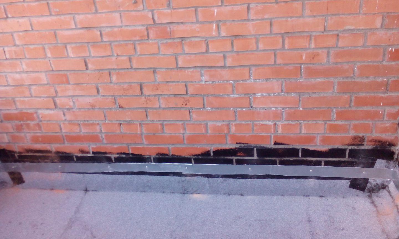 Перед укладкой гидроизоляция цементная